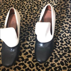 Derek Lam 10 Crosby loafer heels (unique)